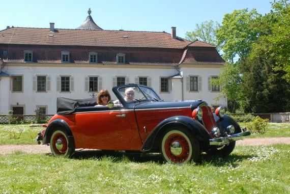 Oltimer Gottesdienst Rotes Schloss