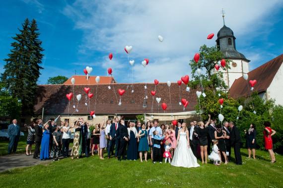 Hochzeit RS Garten