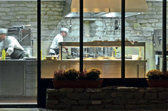 Unsere offene Küche