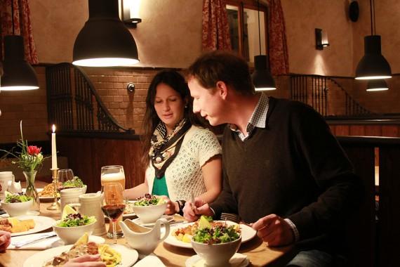 Restaurant Vielfalt Essen