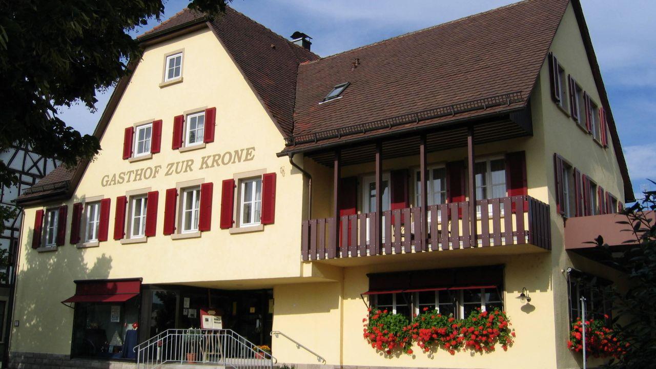 Aussenansicht Gästehaus Krone in Jagsthausen